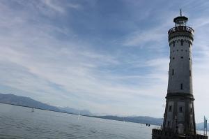 Lindau Germany lighthouse