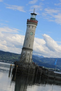 Lindau Germany lighthouse